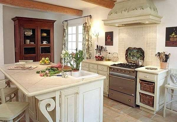 country french kitchen decor country kitchen decor combines charm and rustic 5971